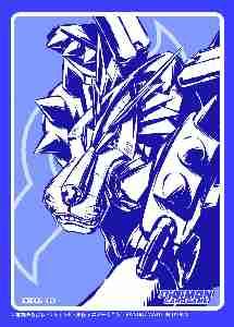 デジモンカードゲーム オフィシャルスリーブ メタルガルルモン